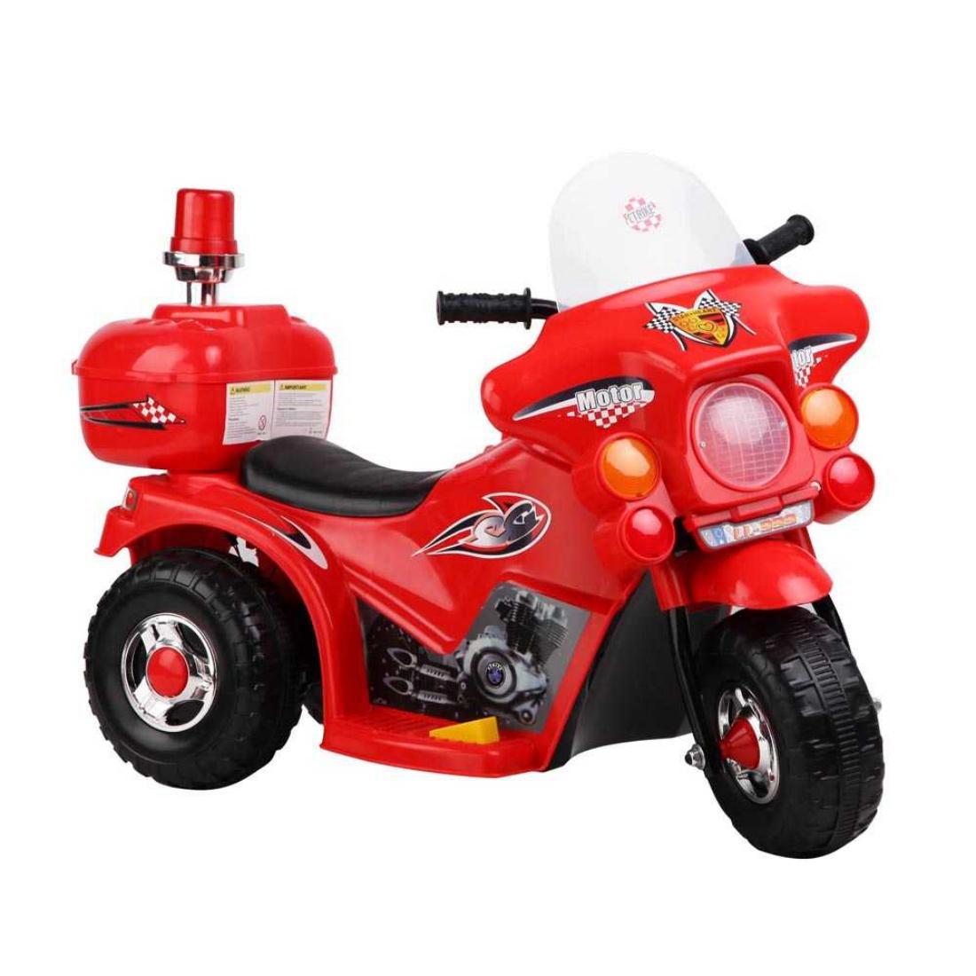 Kids Ride on Motorbike Red Electric Motorcycle