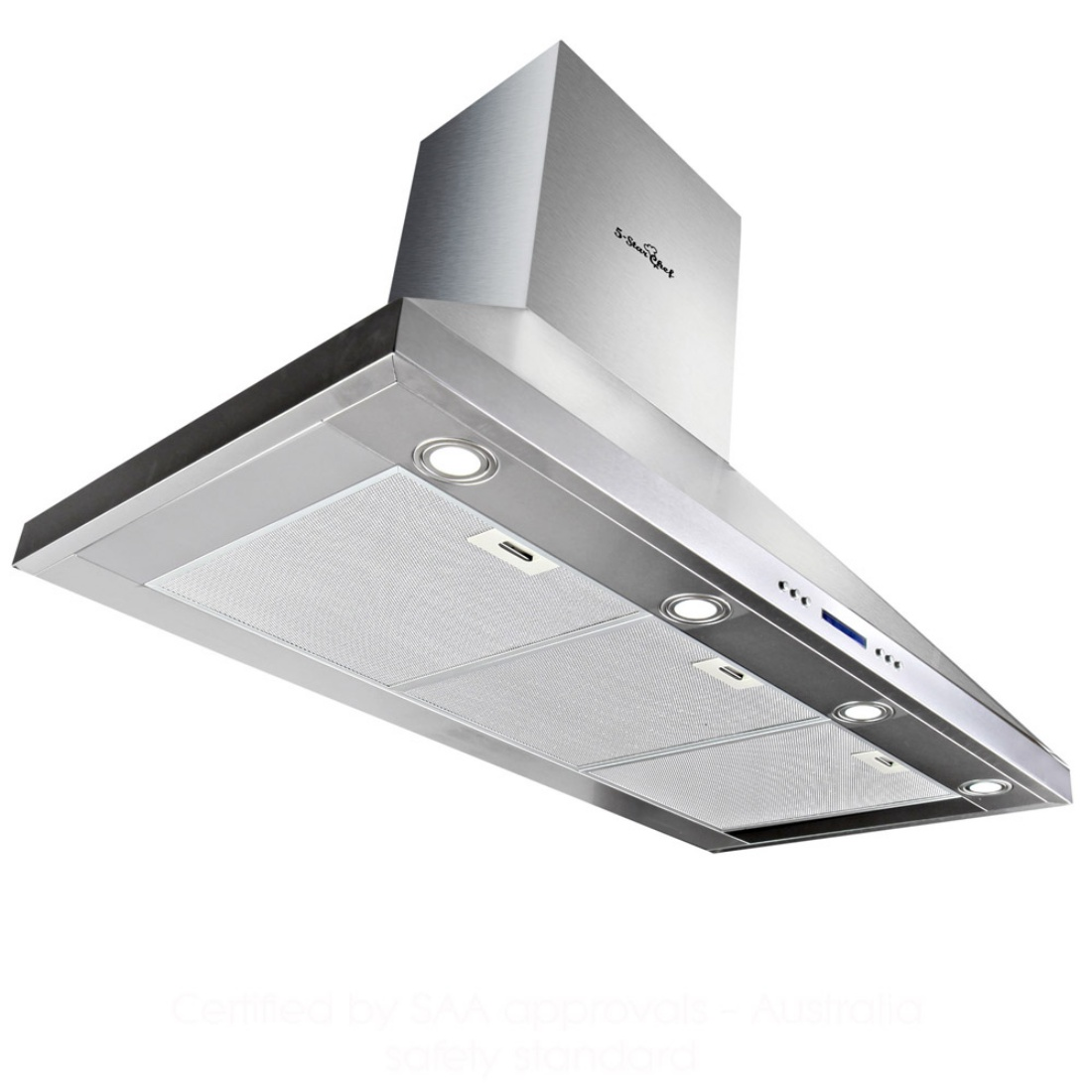 5 Star Chef 3 Fan Speed Rangehood 120cm