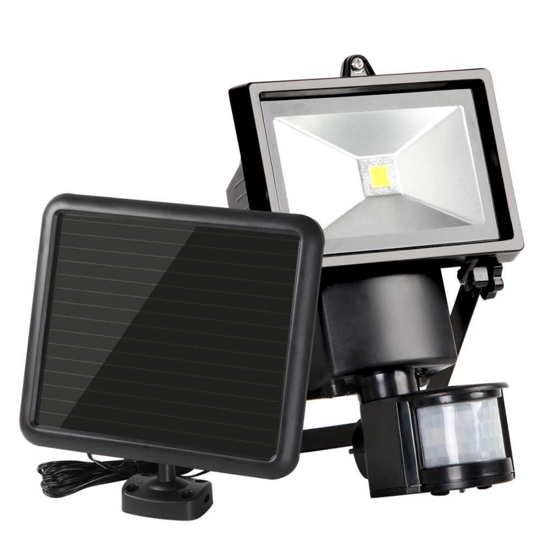 5W COB LED Solar Motion Detection Sensor Security Light