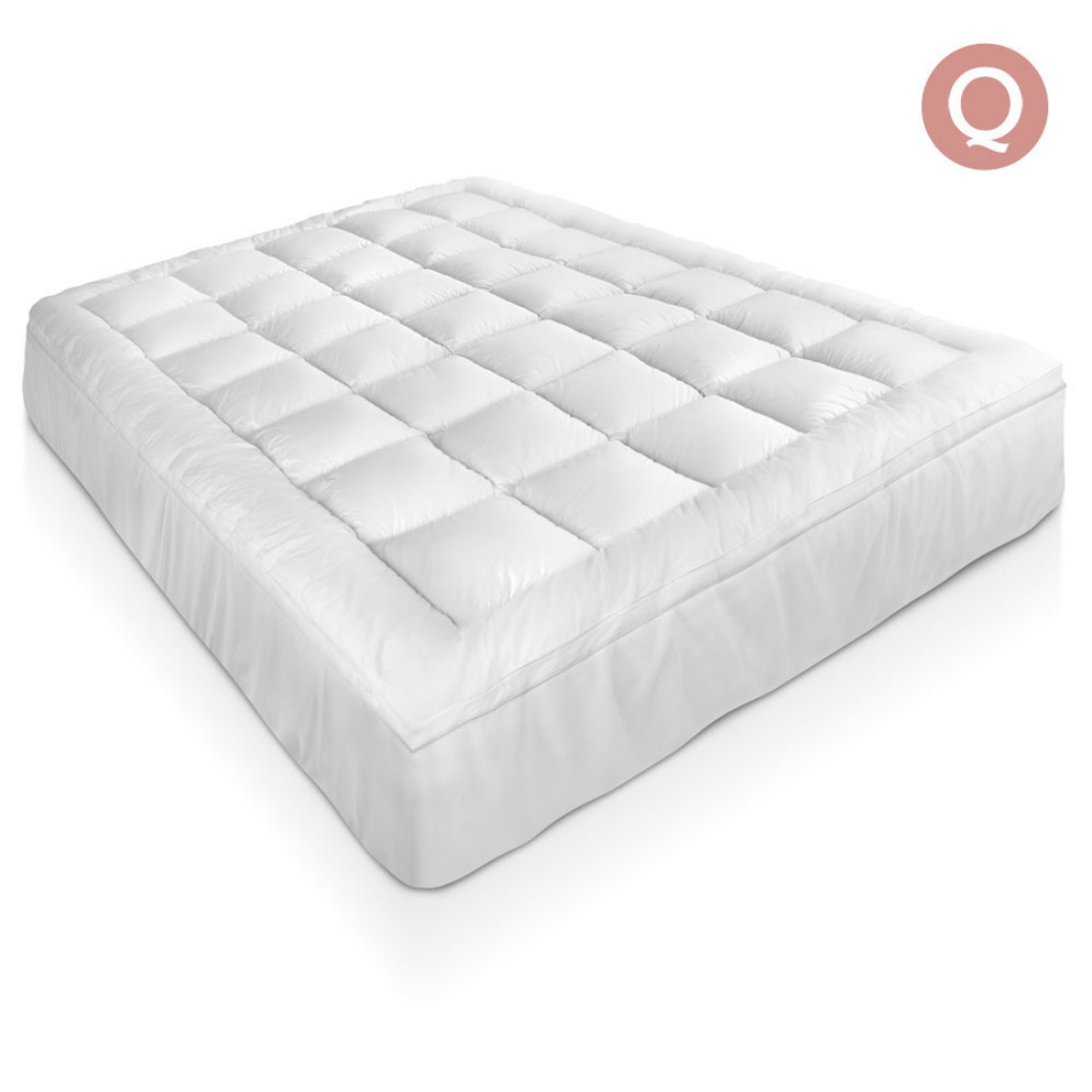 Bamboo Pillowtop Mattress Topper 5cm - Queen