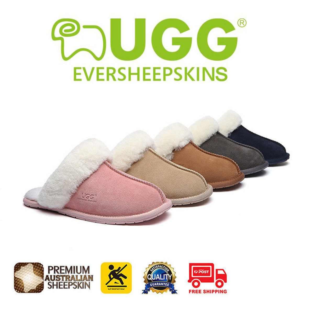 UGG Boots Rosa Scuff Slippers Unisex