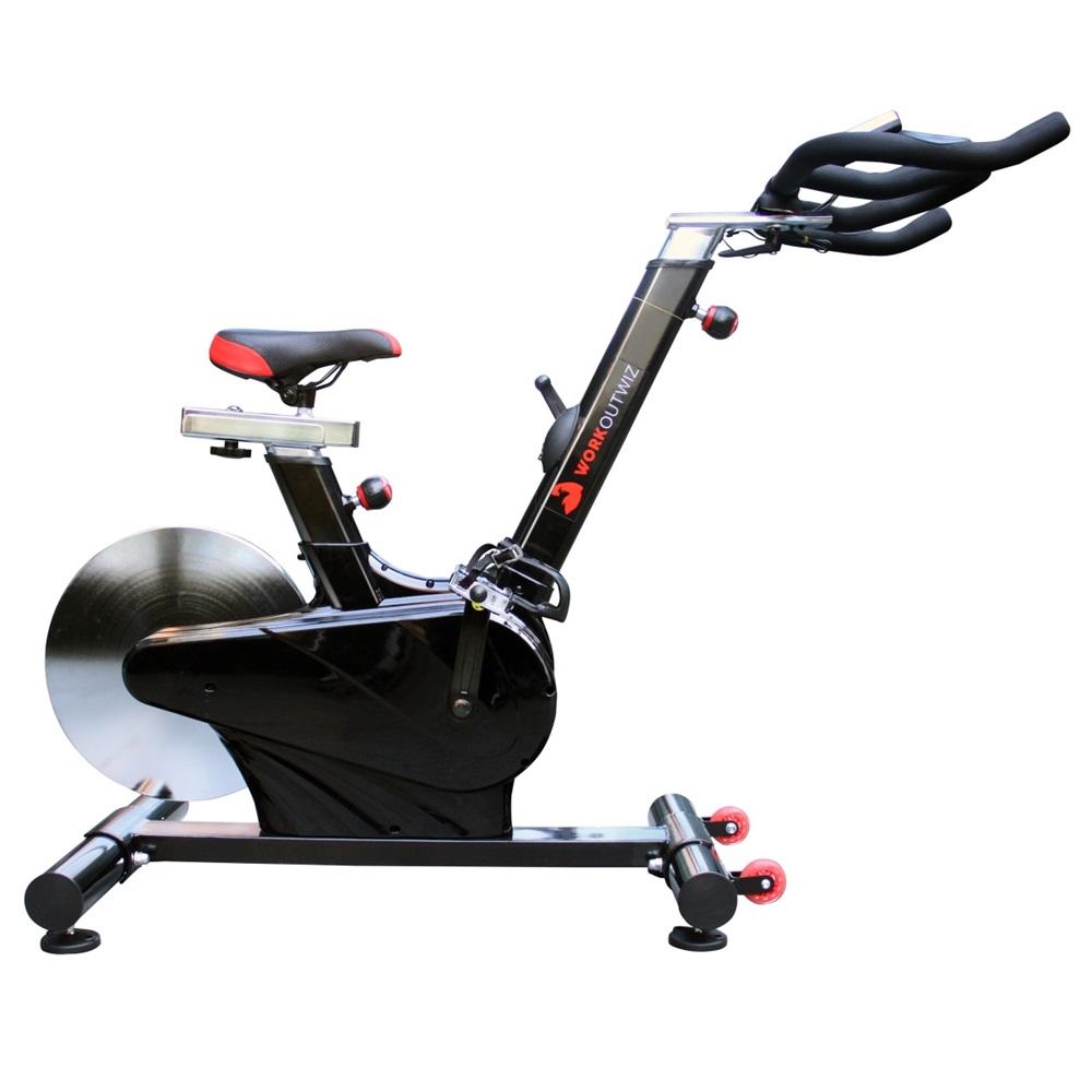 Workoutwiz Spin Bike Flywheel Commercial Spin Bike 18kg Gym Home Indoor Workout