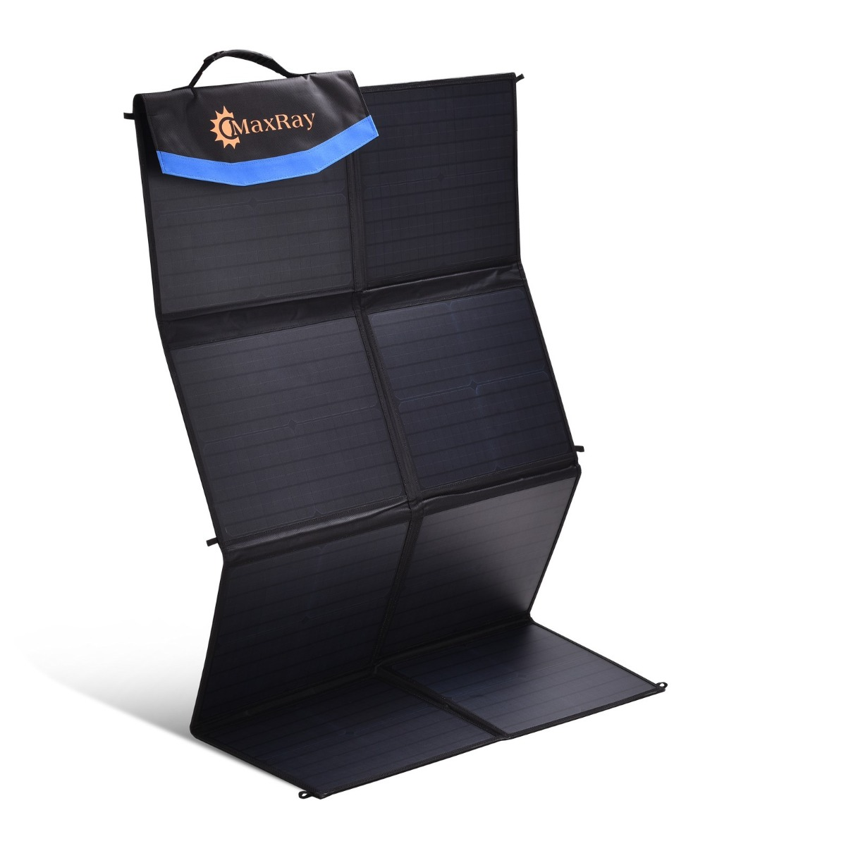 MaxRay 250W 12V Folding Solar Panel Blanket Mat Kit Mono Camping Power USB
