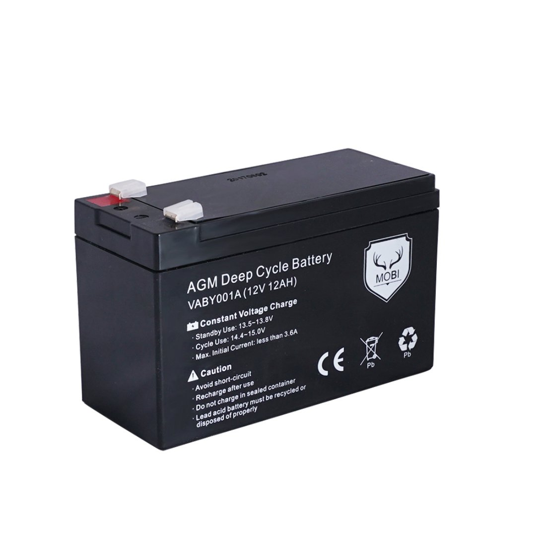 12V 12AH Amp Hour Battery AGM Deep Cycle 12 Volt