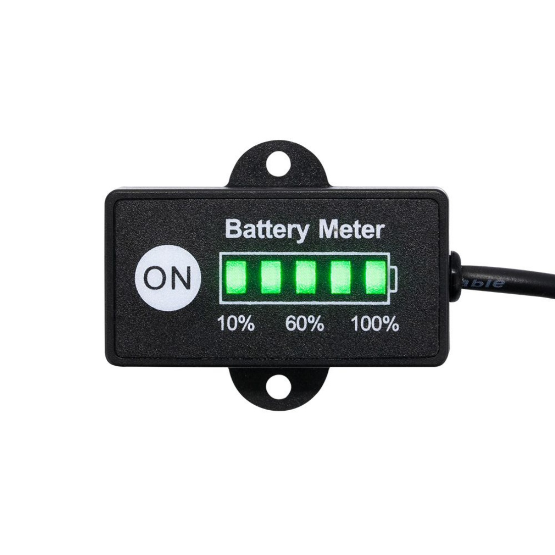 12 Volt Dual Battery Switch plus Digital LED Indicator