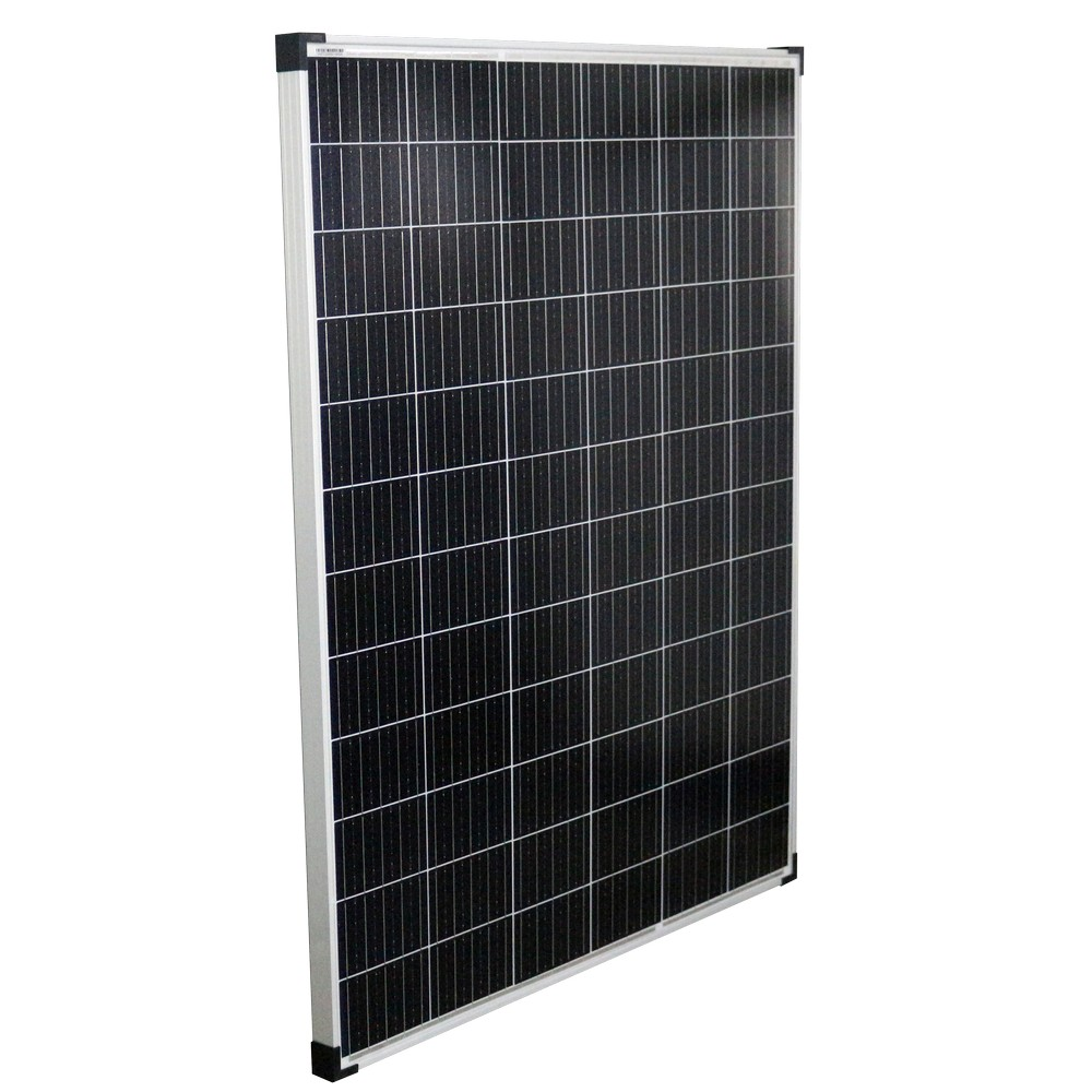 12V 325W Solar Panel Kit Mono Fixed Camping Caravan Boat Charging Power Source