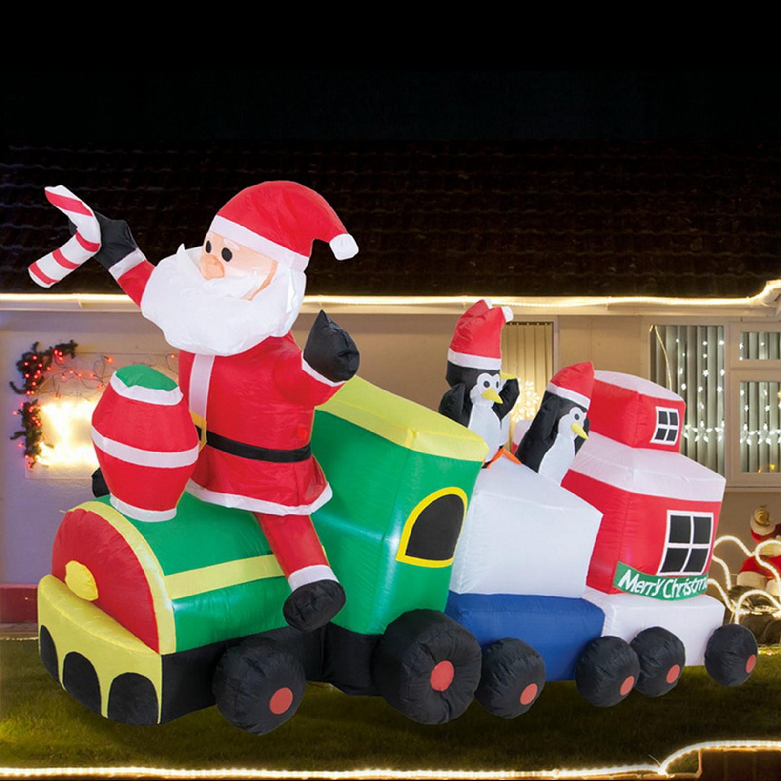 Airpower Santa 'N Friends Train - Cool White Led