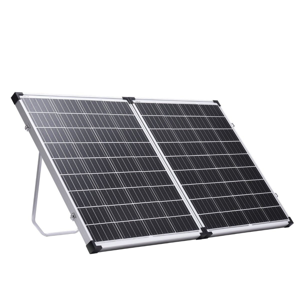 240W Folding Solar Panel Kit 12V Mono Camping Caravan Boat Charging Power USB