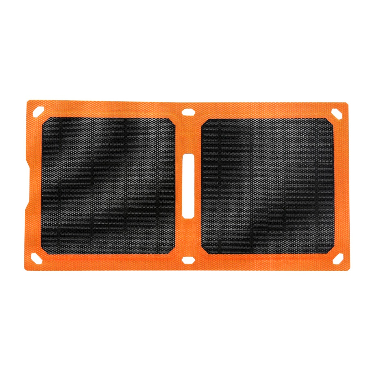 10W Smart flexible Solar Panel Power Bank ETFE Foldable USB Phone Ipad Camera