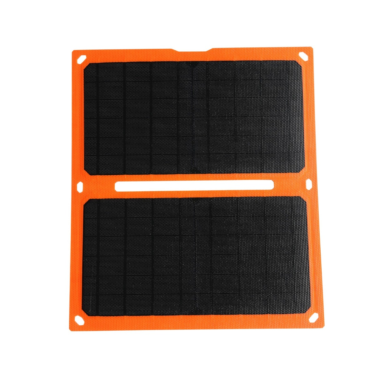20W Smart flexible Solar Panel Power Bank ETFE Foldable USB Phone Ipad Camera