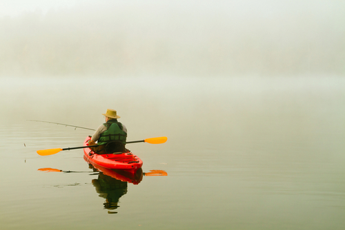 How to Fish with a Kayak
