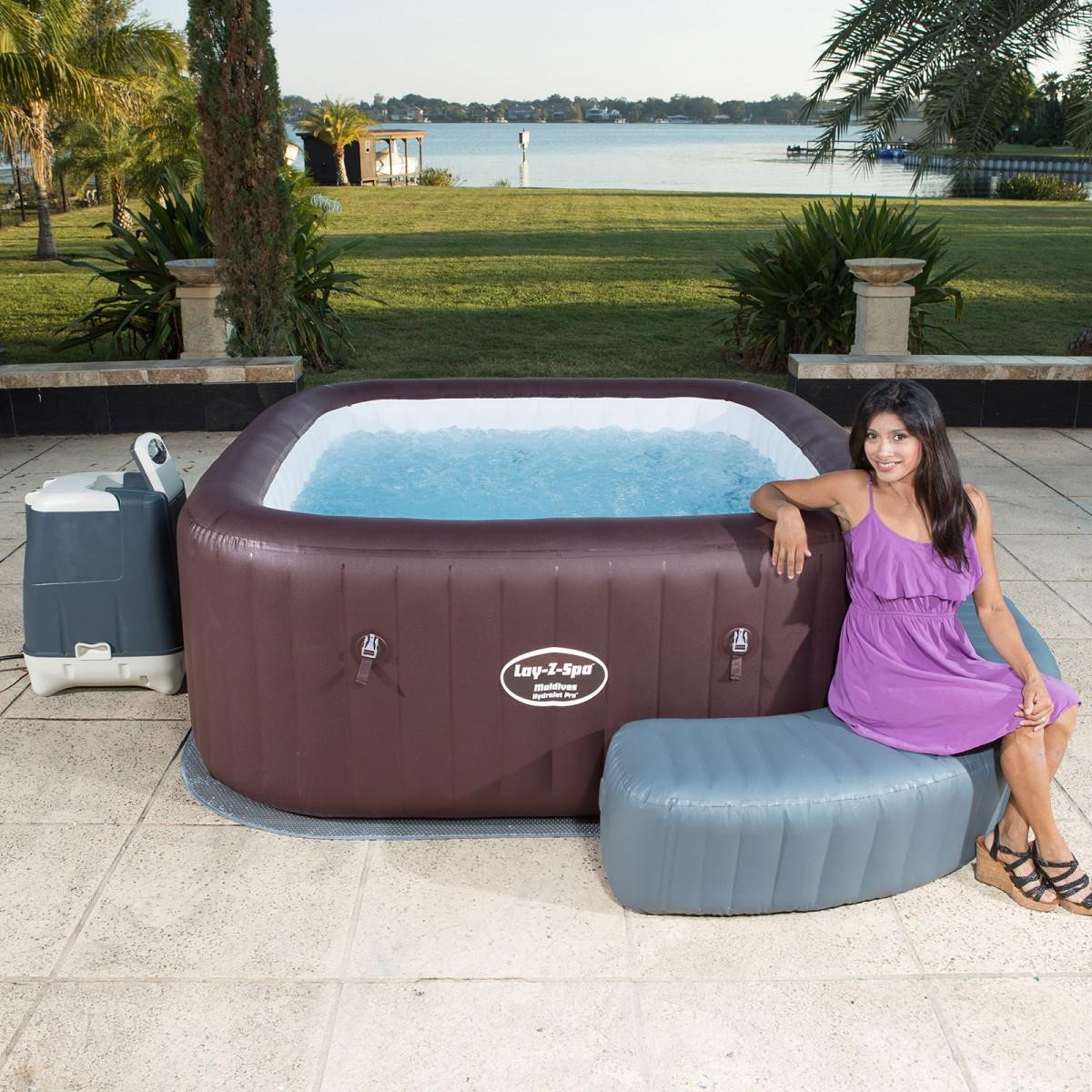 How to Set Up Your Inflatable Hot Tub Indoors