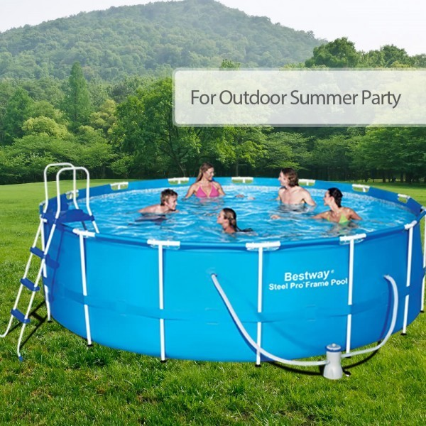 bestway above-ground-swimming-pools 15FT 457CM