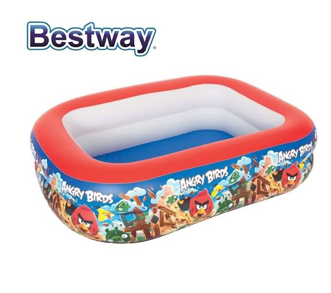bestway angry birds kids inflatable swimming pools