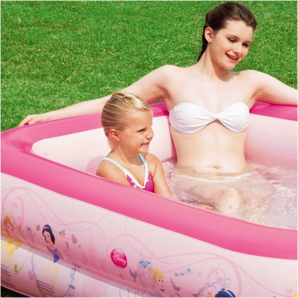 snow white inflatable kids pool
